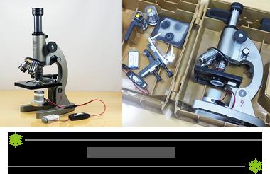 顕微鏡撮影と機材
